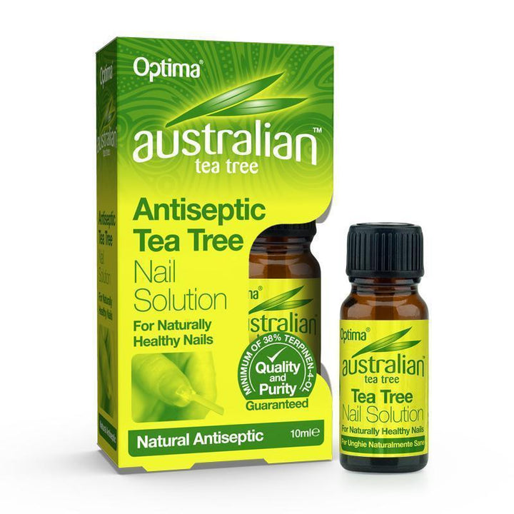 Antiseptic Tea Tree Nail Solution 10ml - Optima Health & Nutrition