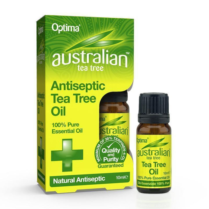 Antiseptic Tea Tree Pure Oil 10ml - Optima Health & Nutrition