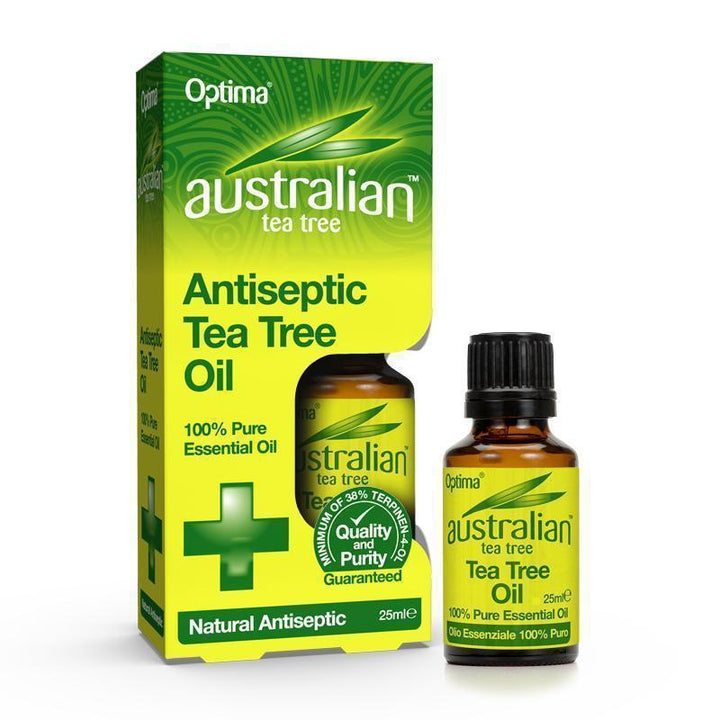 Antiseptic Tea Tree Pure Oil 25ml - Optima Health & Nutrition