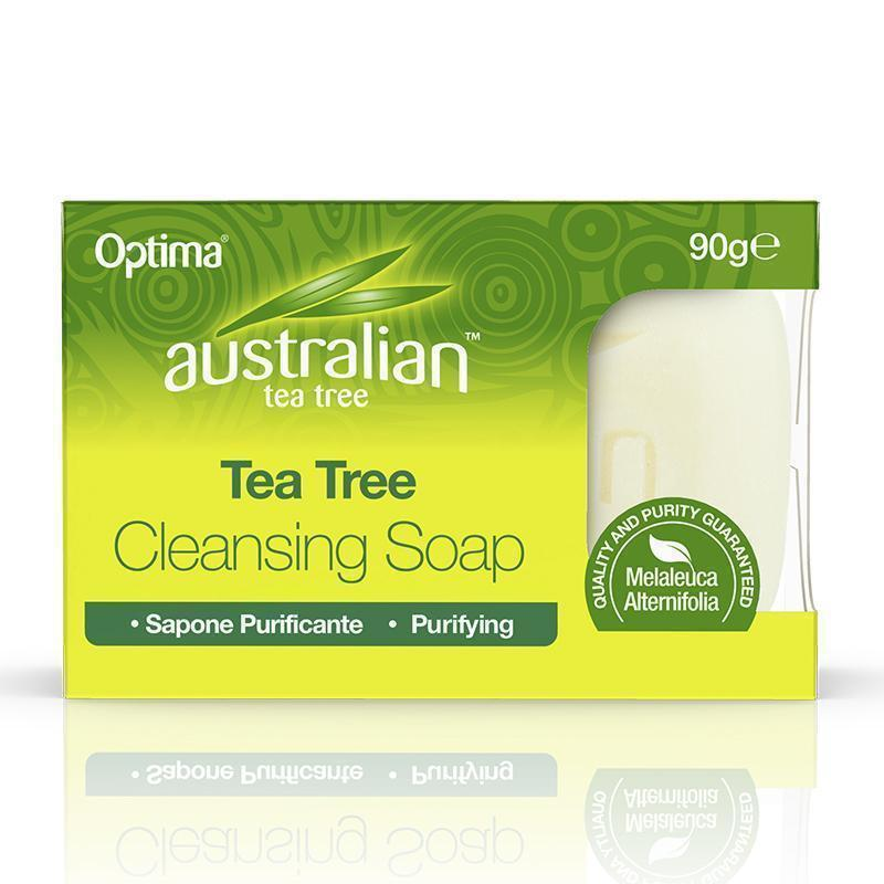 Tea Tree Cleansing Soap 90ml - Optima Health & Nutrition