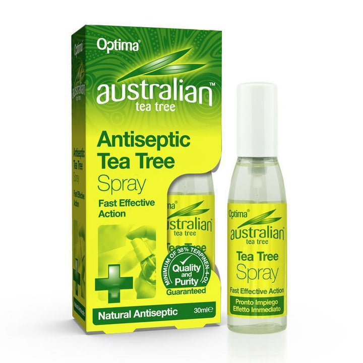 Antiseptic Tea Tree Spray 30ml - Optima Health & Nutrition
