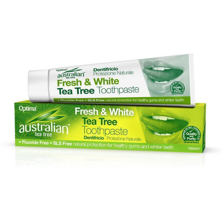 Tea Tree Toothpaste 100ml - Optima Health & Nutrition