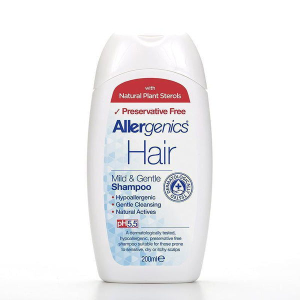 Allergenics® Mild & Gentle Shampoo 200ml - Optima Health & Nutrition