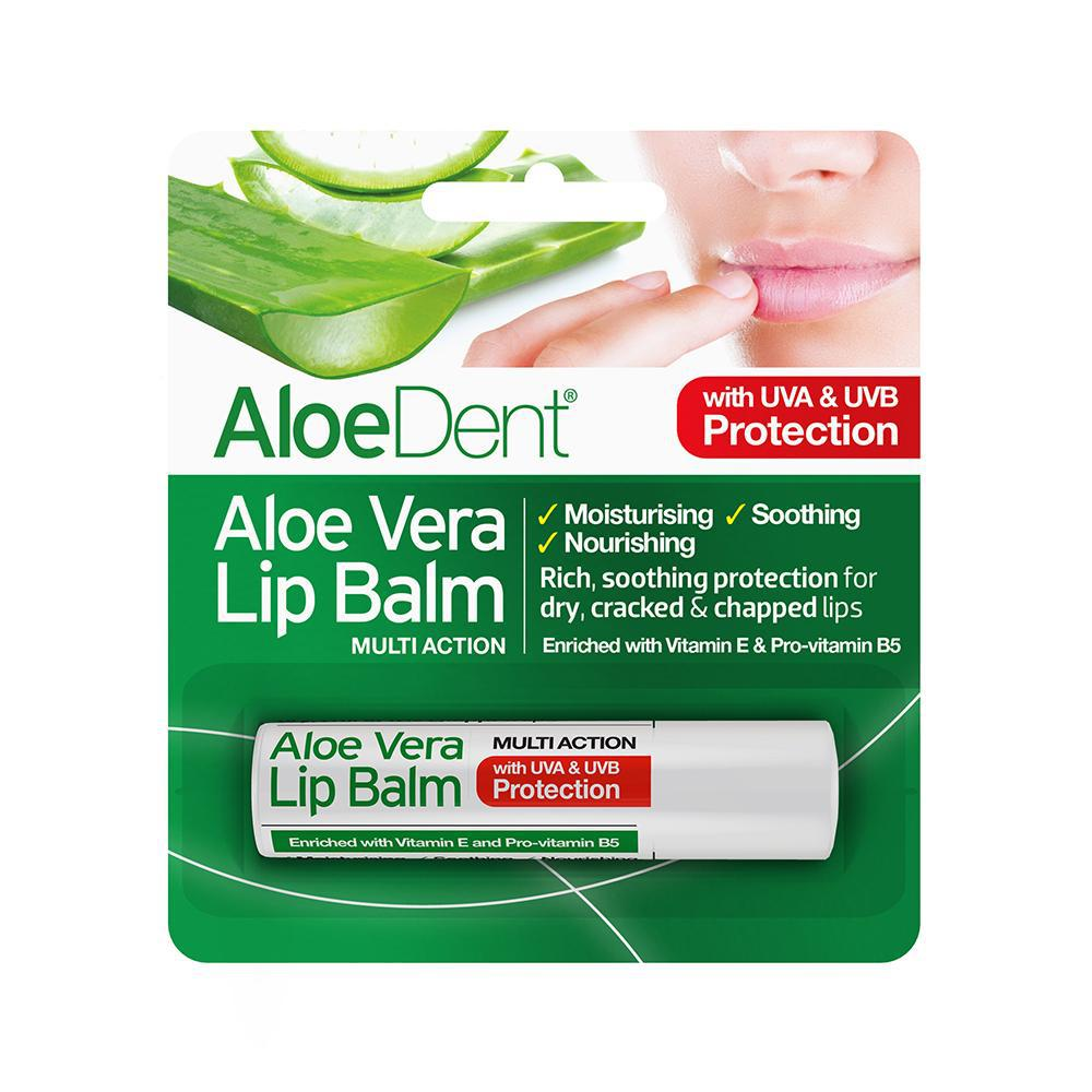 AloeDent® Aloe Vera Lip Balm 4g - Optima Health & Nutrition