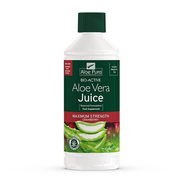 Aloe Vera Juice Cranberry 1L - Optima Health & Nutrition