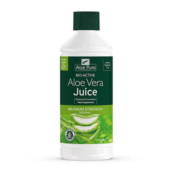 Aloe Vera Juice Maximum Strength 1L - Optima Health & Nutrition