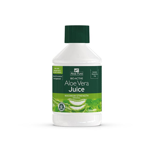 Aloe Vera Juice Maximum Strength 500ml - Optima Health & Nutrition