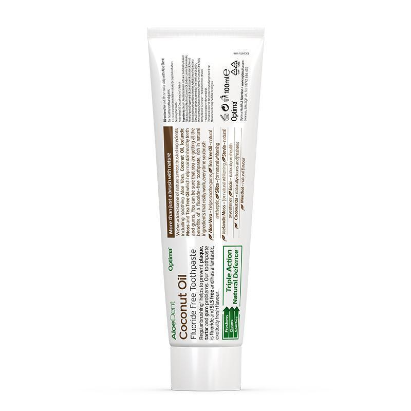 AloeDent® Coconut Toothpaste - Optima Health & Nutrition
