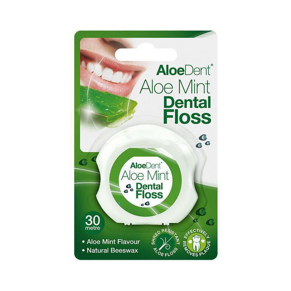 AloeDent® Dental Floss 30 Metre - Optima Health & Nutrition