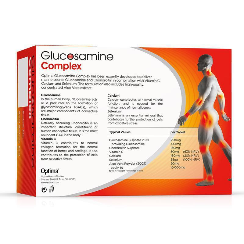 Glucosamine Complex Tablets 90 Tablets - Optima Health & Nutrition