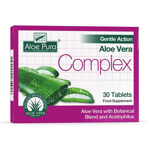 Gentle Action Aloe Vera Complex 30 Tablets