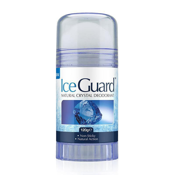 Ice Guard Natural Crystal Deodorant 120g - Optima Health & Nutrition