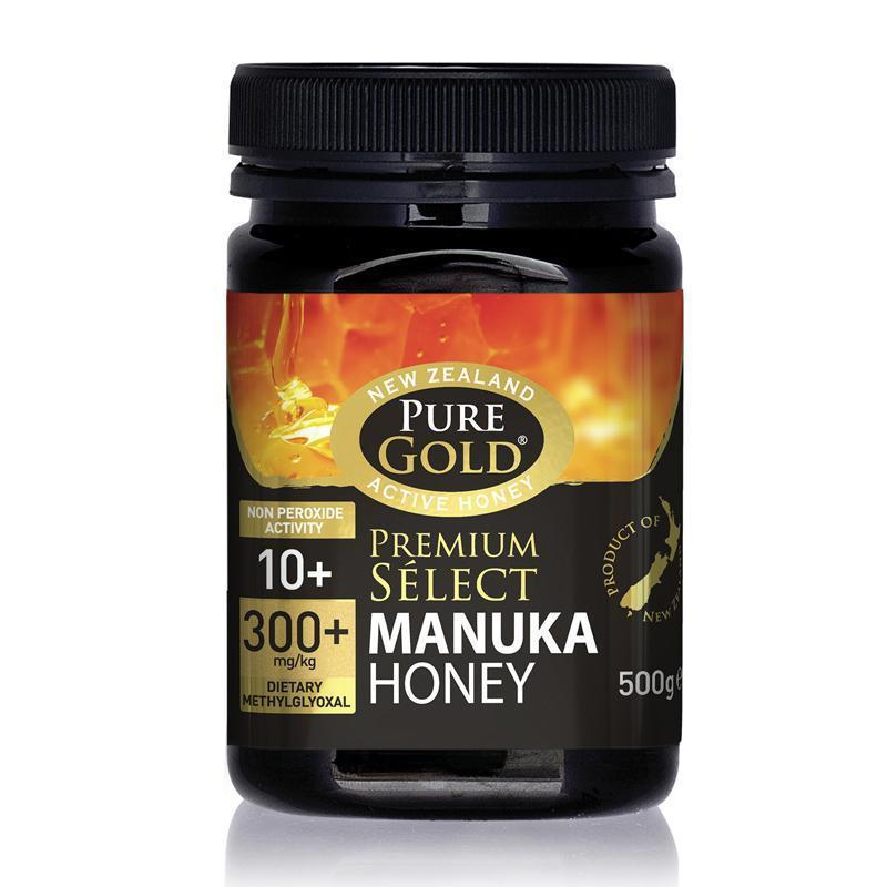 Pure Gold Premium Select Manuka Honey MGO 300 500g