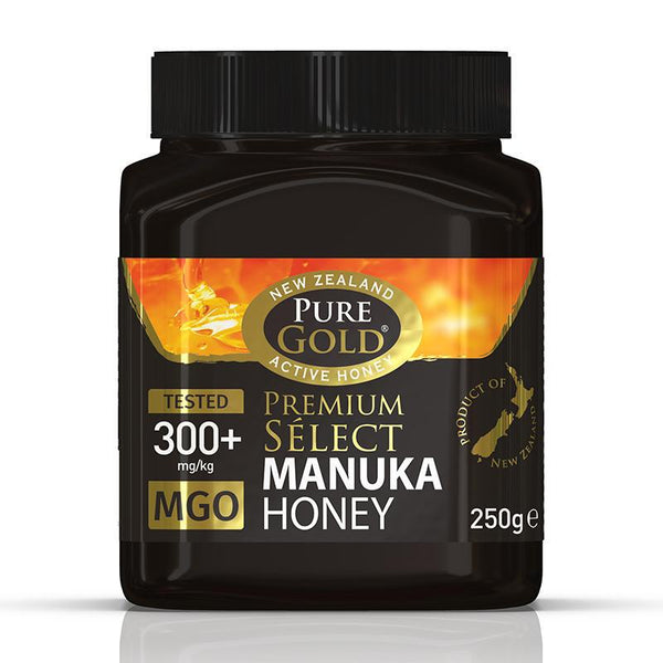 Pure Gold Premium Select Manuka Honey MGO 300 250g
