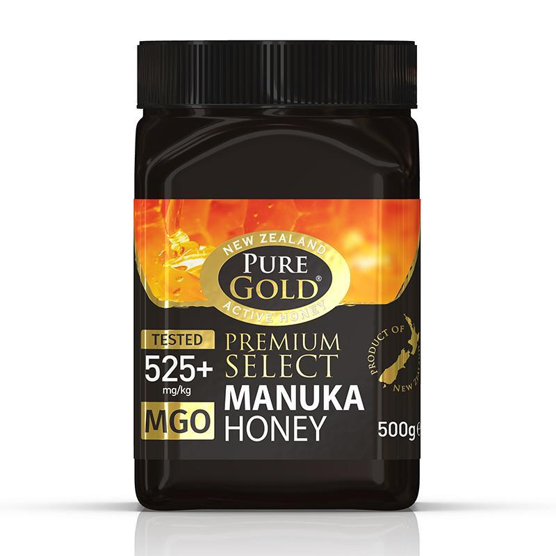 Pure Gold Premium Select Manuka Honey MGO 525 500g
