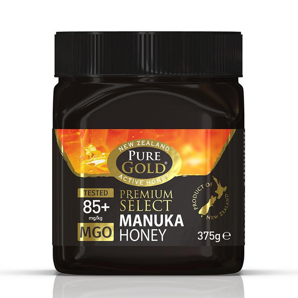 Pure Gold Premium Select Manuka Honey MGO 85 375g