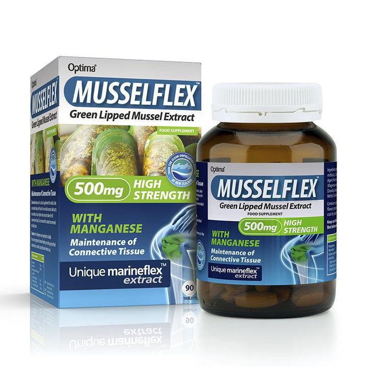 MusselFlex 90 Tablets - Optima Health & Nutrition