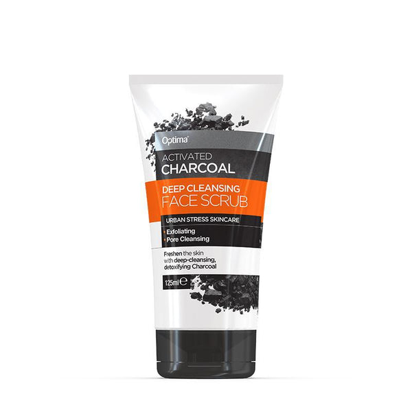 Activated Charcoal Purifying Face Scrub 125ml