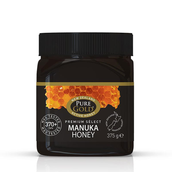 Pure Gold Premium Select Manuka Honey MGO 370 375g
