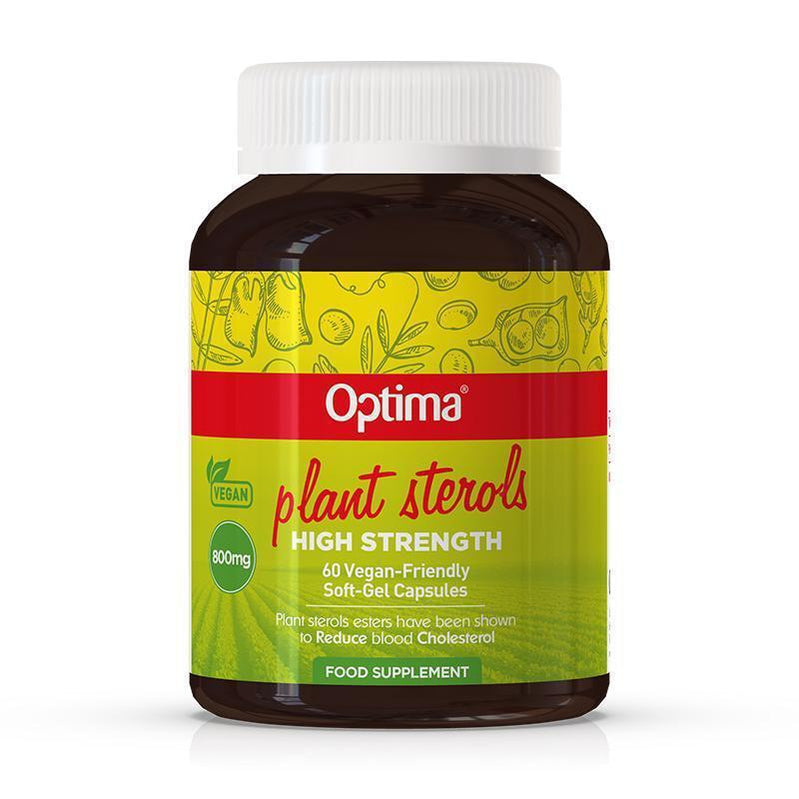 Plant Sterols 800mg - Optima Health & Nutrition