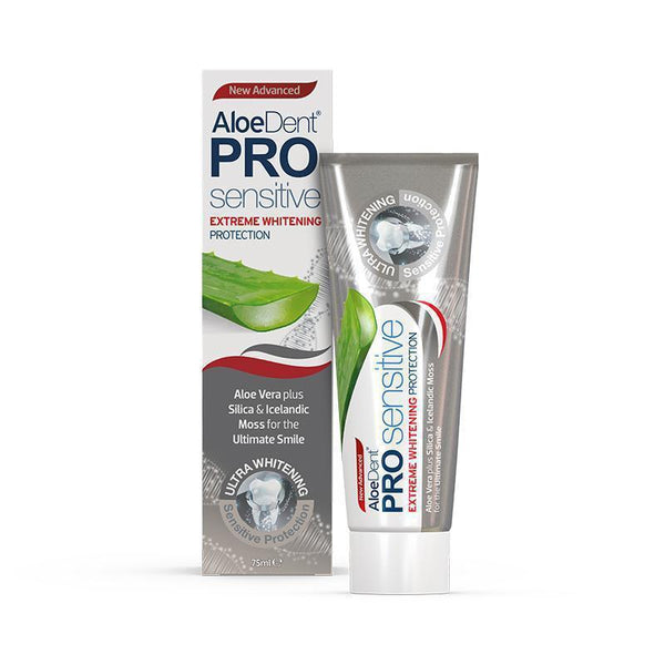 AloeDent® Pro Whitening Toothpaste - Optima Health & Nutrition