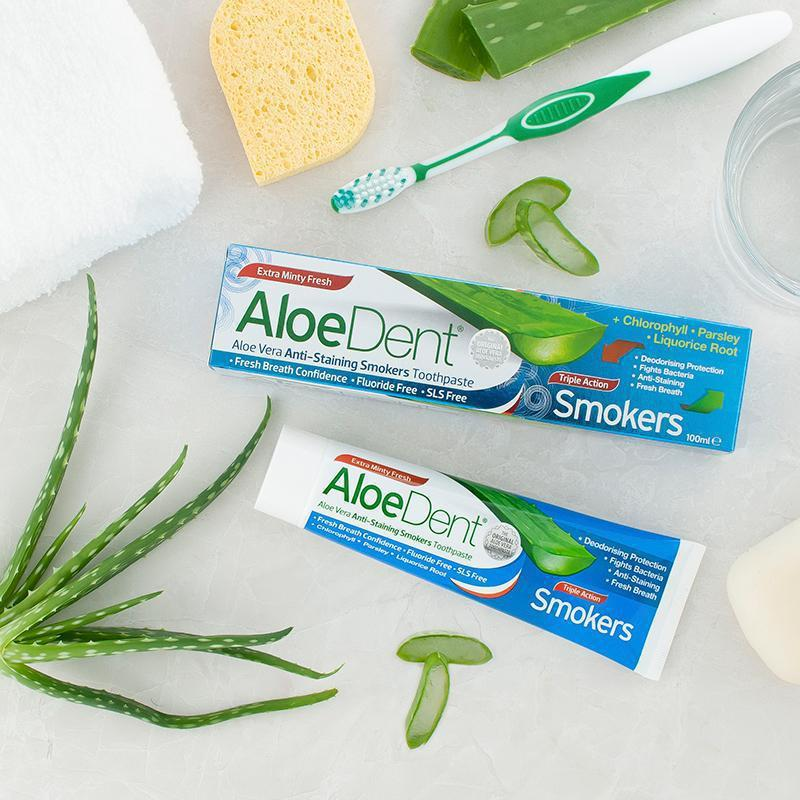 AloeDent® Smokers Toothpaste - Optima Health & Nutrition