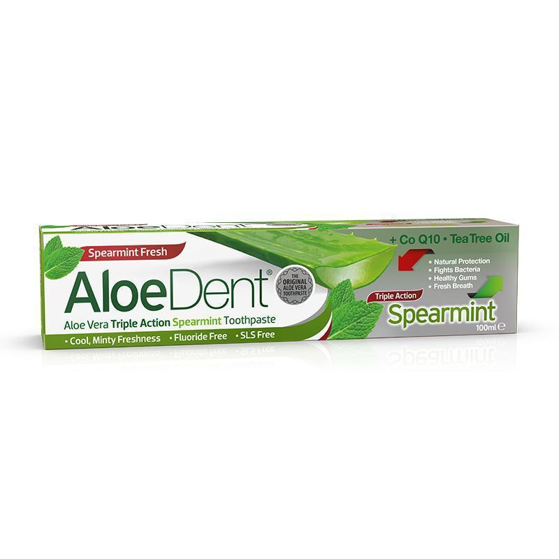 AloeDent® Spearmint Toothpaste - Optima Health & Nutrition
