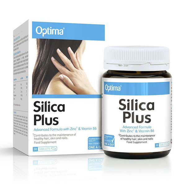 Optima Silica Plus (30 Tablets) - Optima Health & Nutrition