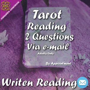 Tarot Reading 2 Questions (Email)