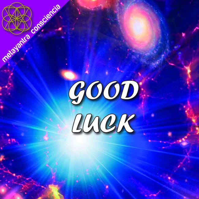 BINAURAL BEATS WITH SUBLIMINALS FOR INFINITE GOOD LUCK MAGNET - Metayantra Consciencia