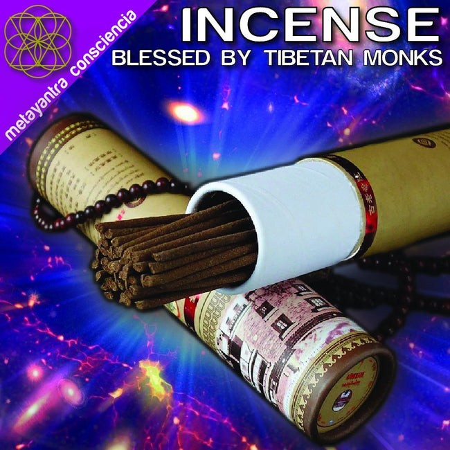 Incense Blessed by Tibetan Monks - Metayantra Consciencia