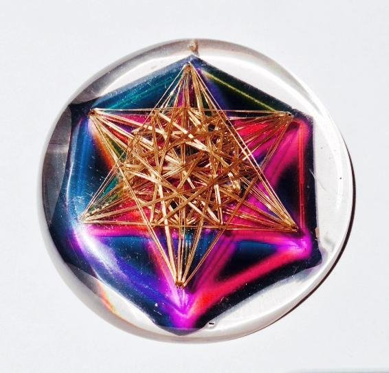 Metatron Star Vortex - Metayantra Consciencia
