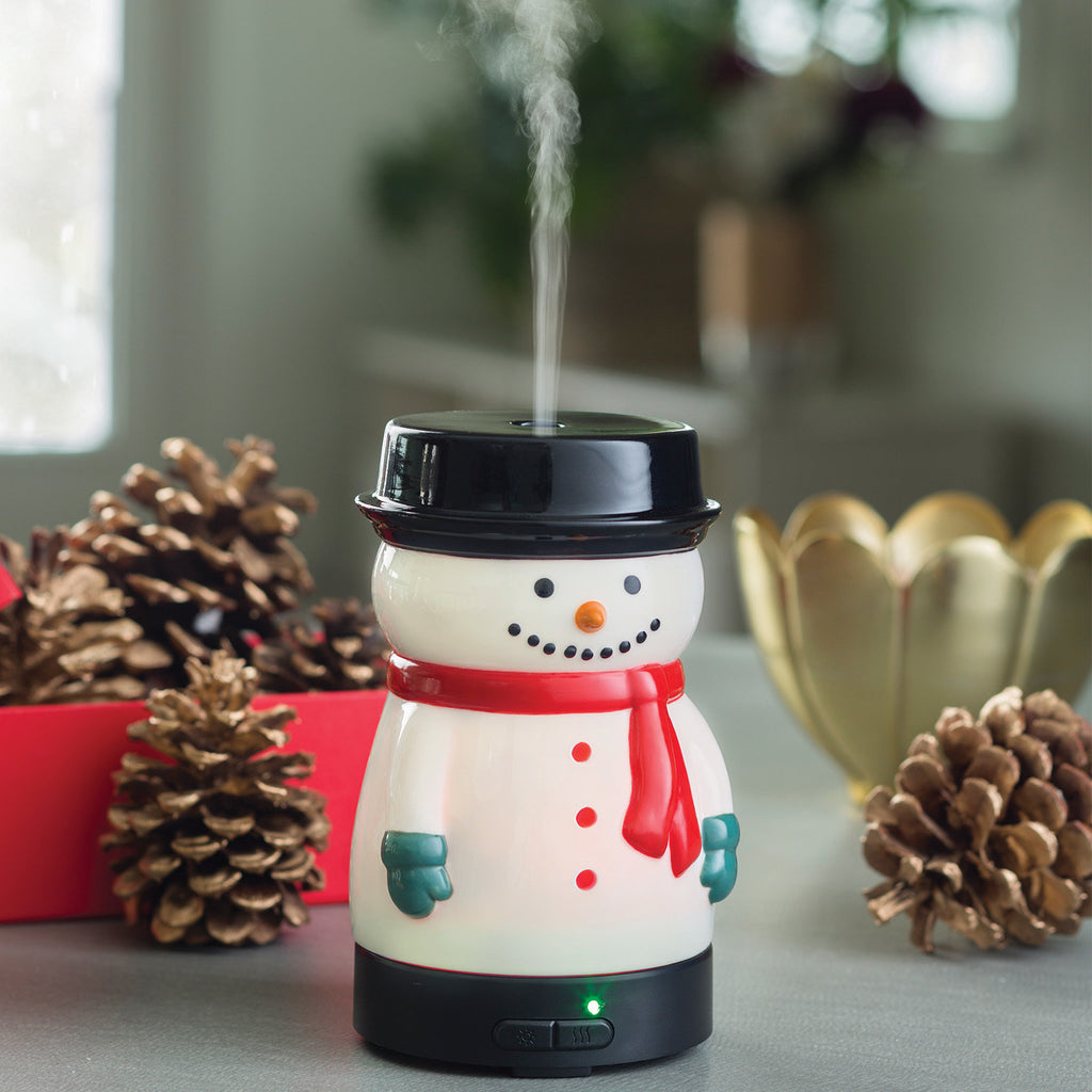 Snowman Glass Ultrasonic Fragrance Diffuser