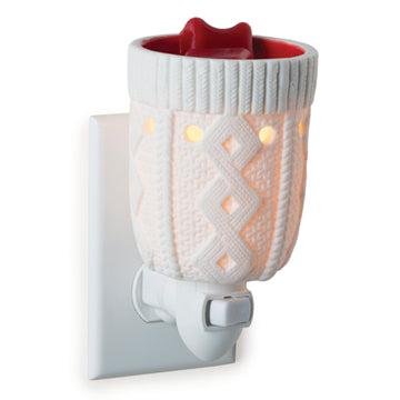 Holiday Stocking Porcelain Pluggable Fragrance Warmer