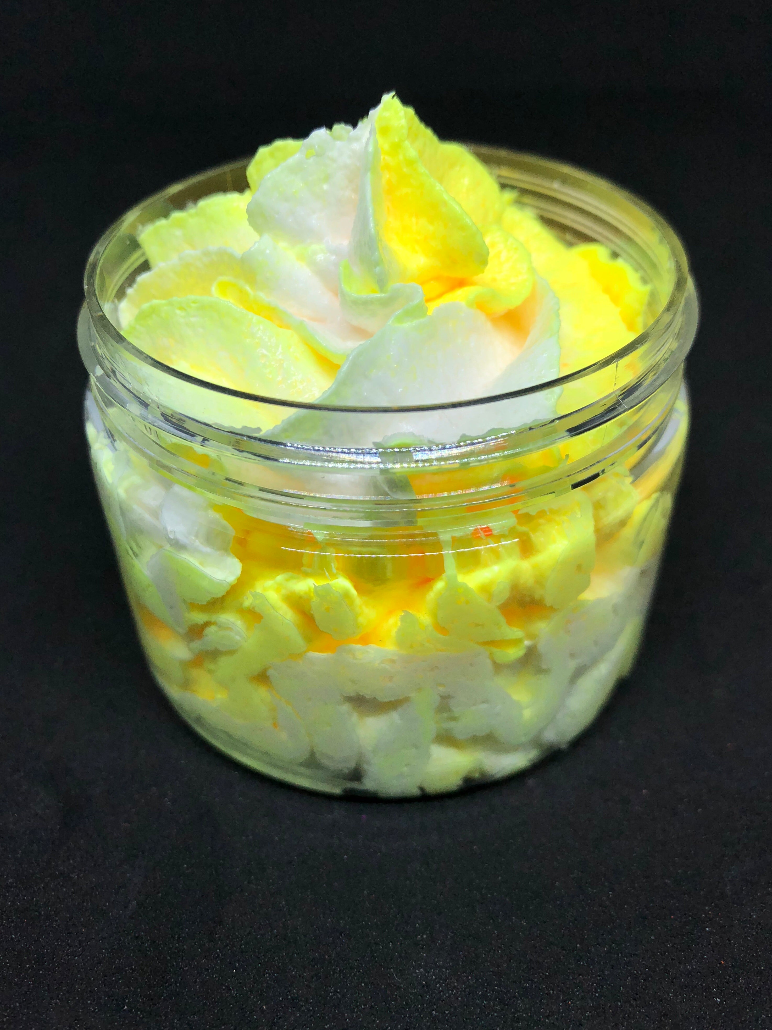 Pineapple, Coconut and Vanilla Whipped Sugar Scrub
