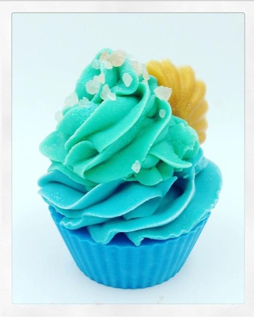 Sea Salt and Ocean Breeze Cupcake Soap