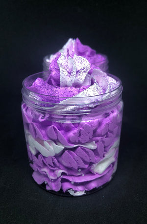 Black Raspberry and Vanilla Whipped Soap Frosting