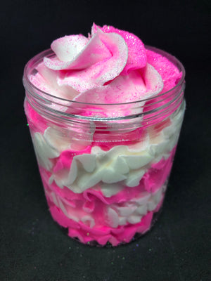 Pink Sugar Whipped Soap Frosting