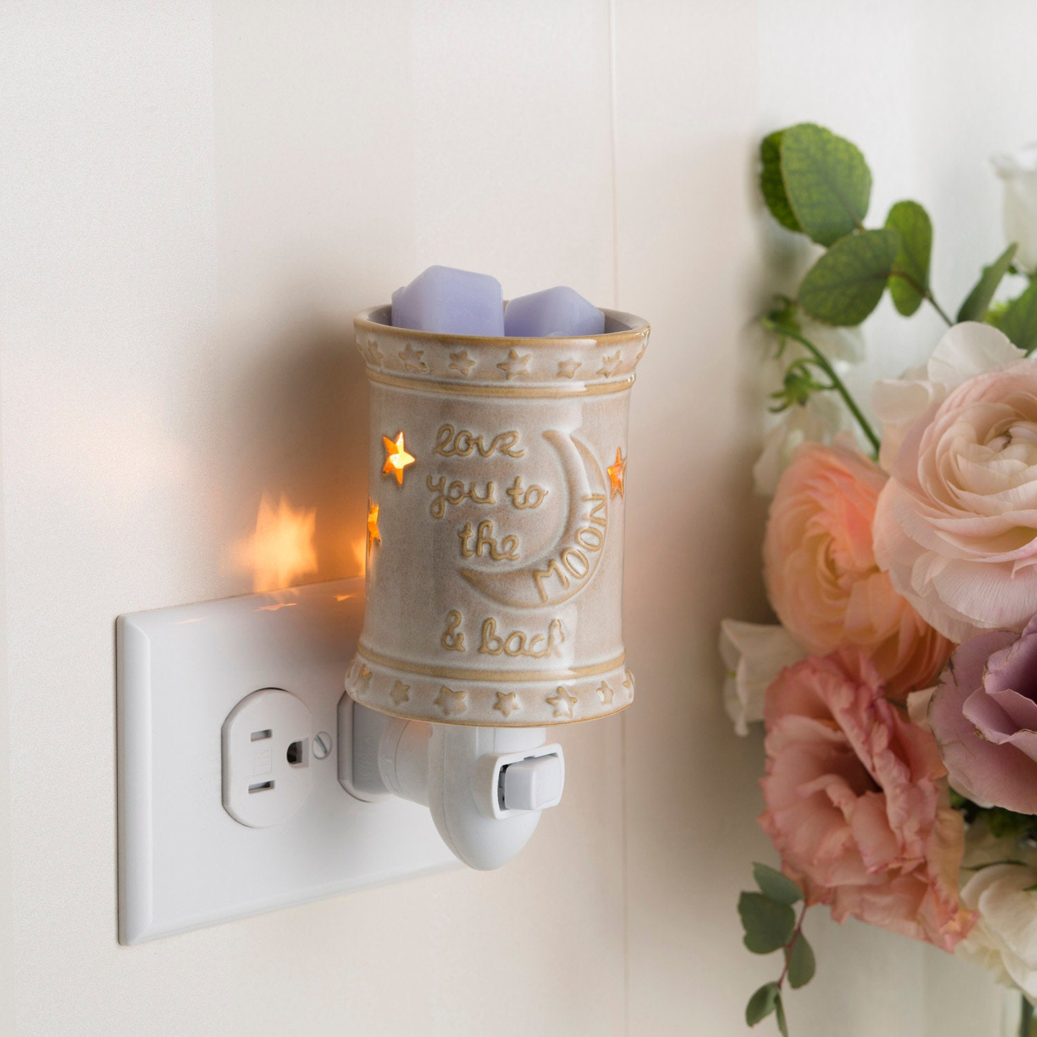 Love You To The Moon And Back Pluggable Fragrance Warmer