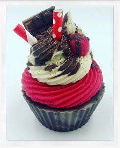 Cherry Ripe Cupcake Soap