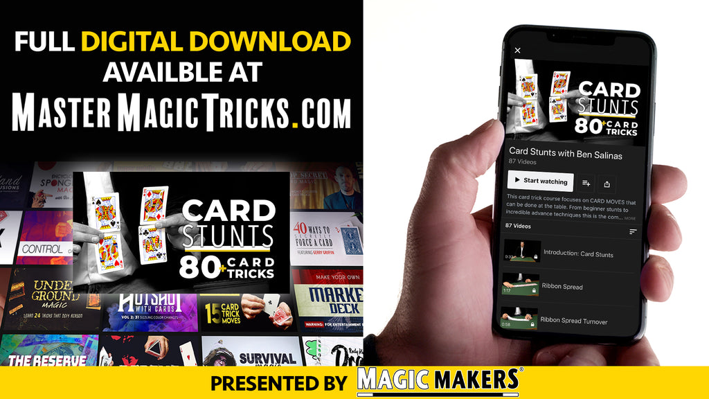 Card Stunts Digital Downloads Banner