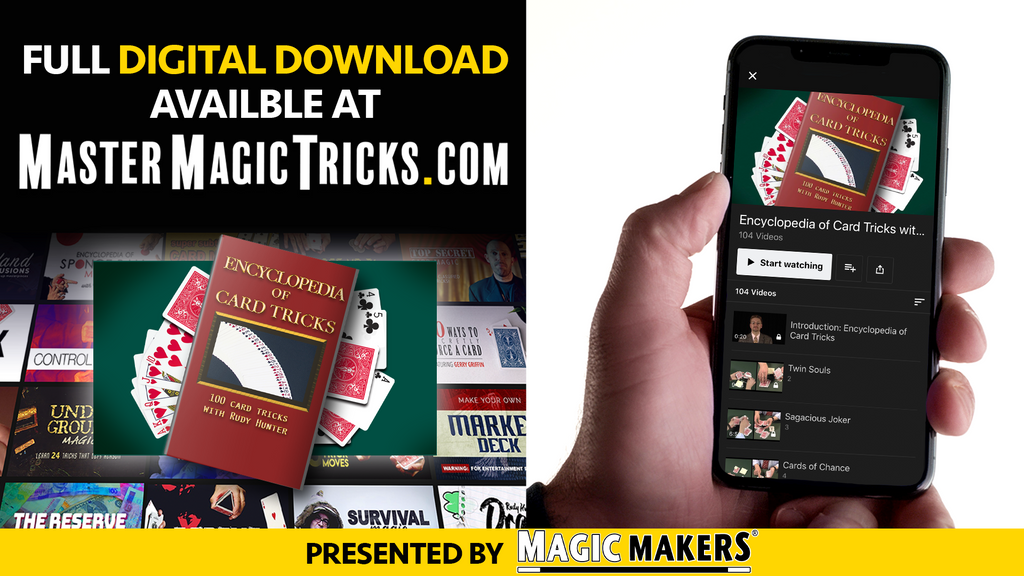 Encyclopedia of Card Tricks Digital Download Banner