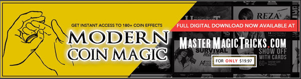 Modern Coin Magic - Instant Download For The Complete Course In Coin Magic