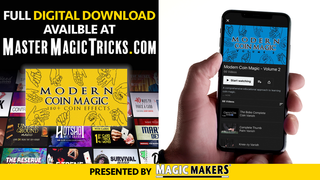 Modern Coin Magic Digital Download Banner
