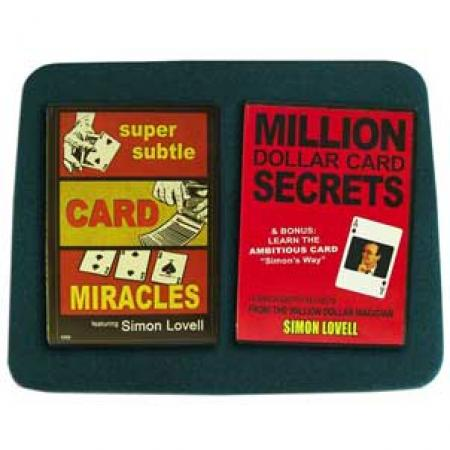 Card Miracles Combo - 2 Magic Training Courses + Medium Green Close-up Pad