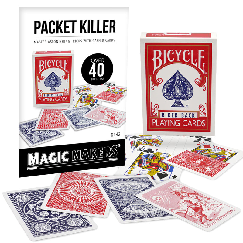 Packet Killer Over 40 Tricks With Magic Bicycle Cards