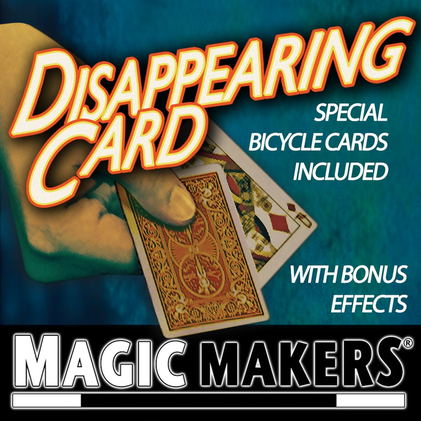 Disappearing Magic Card Trick