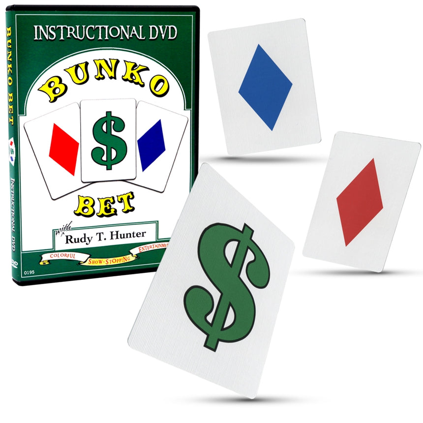 Bunko Bet Magic Training with Bicycle Cards