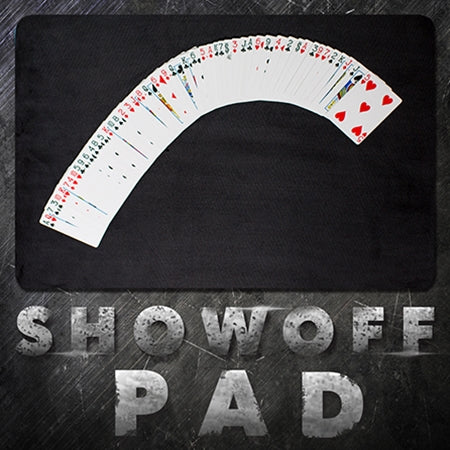 Black Showoff Pad - Medium 20 x 14 in.