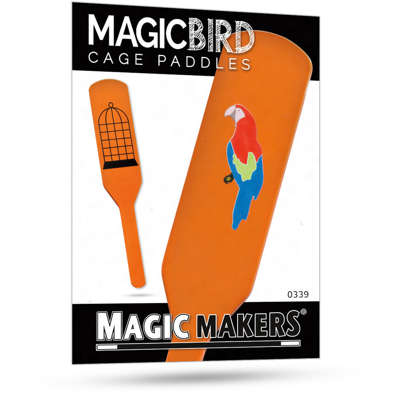 Paddle Move Magic Trick - Birdcage Paddles by Magic Makers